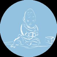 Niemowlaki – zajęcia dla dzieci od 12 do 24 miesiąca życia.