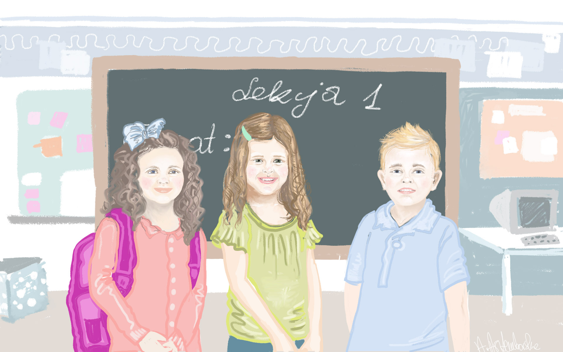 Przedszkolak idzie do szkoły